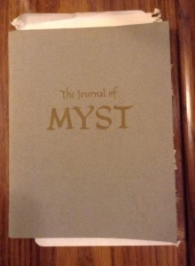 Myst journal