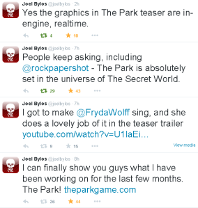 Bylos tweets The Park