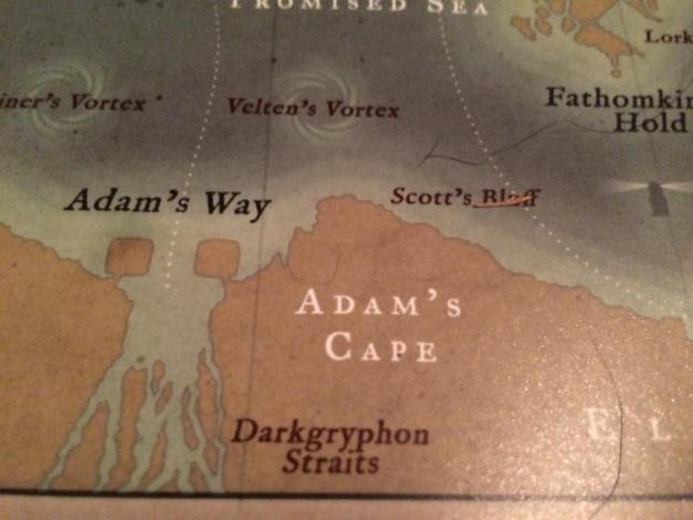 Darkgryphon Straits