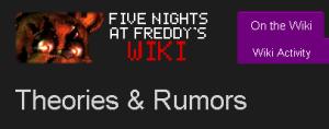 fnaf wiki theories