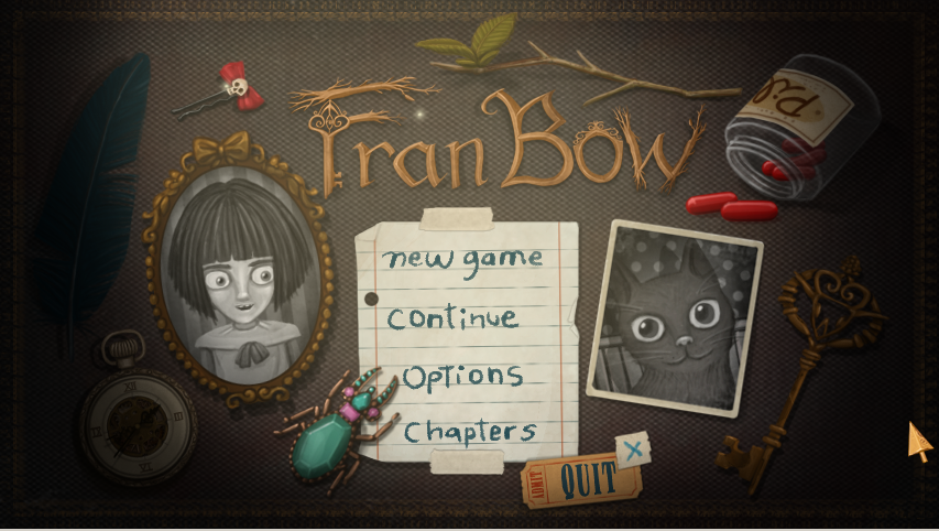 Gryph is Playing Fran Bow (#Blaugust 28) (1/5)