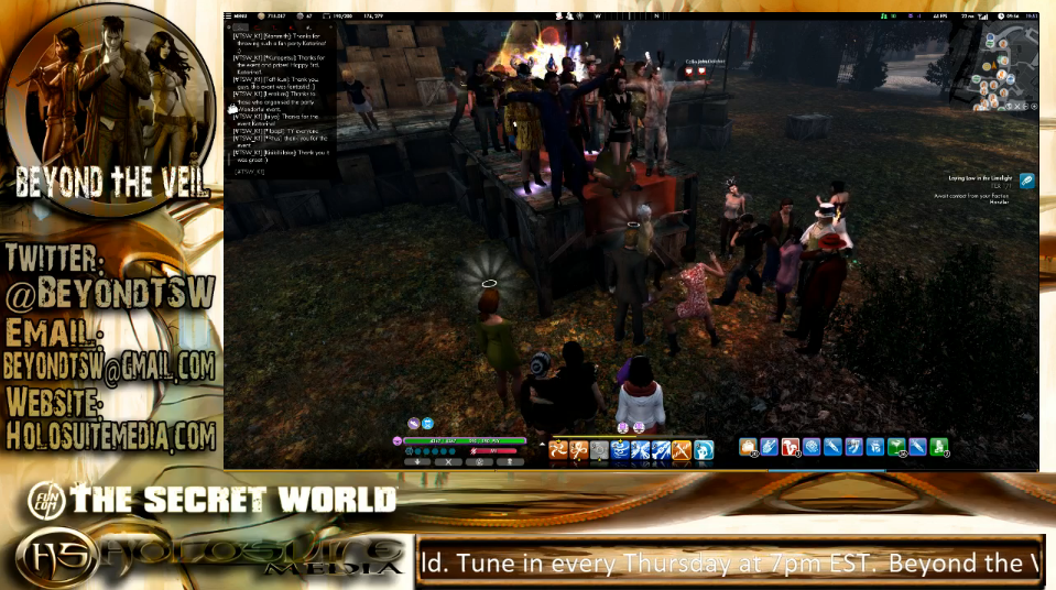 Ain't No Party Like A #TSW Party, 'Cause Our Community Rocks! (#Blaugust 9) (3/3)